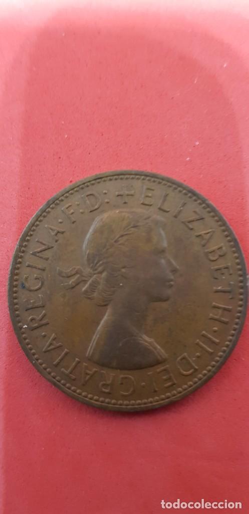 ONE PENNY ELIZABETH II 1961 (Numismática - Extranjeras - Europa)