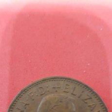 Monedas antiguas de Europa: ONE PENNY ELIZABETH II 1961. Lote 159658662