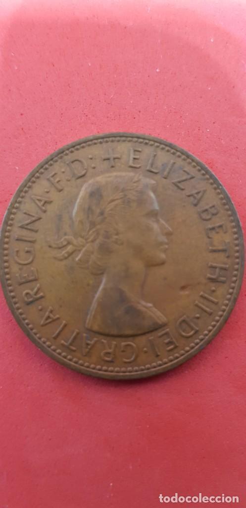 ONE PENNY ELIZABETH II 1963 (Numismática - Extranjeras - Europa)