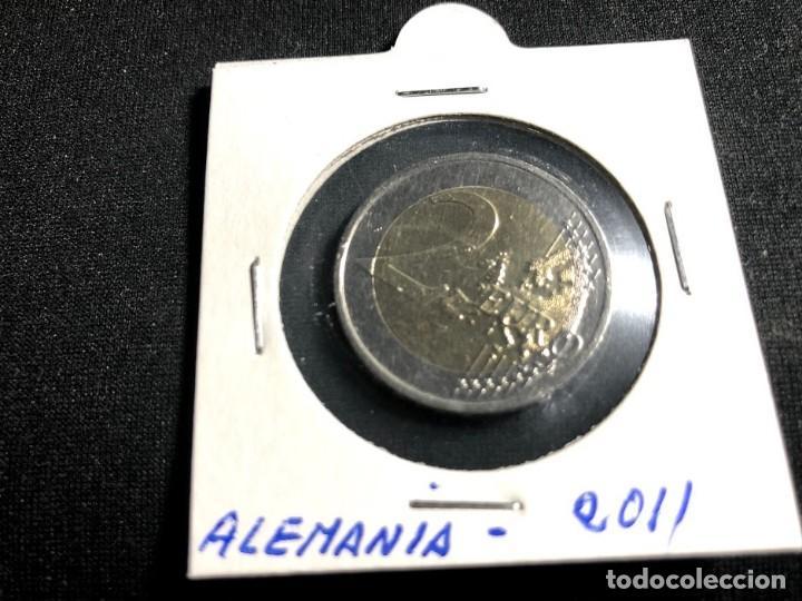 Monedas antiguas de Europa: Moneda 2 euros Alemania 2011-Ceca F- - Foto 2 - 159681106