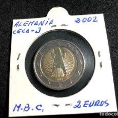 Monedas antiguas de Europa: MONEDA 2 EUROS ALEMANIA 2002-CECA J - MUY BIEN CONSERVADA. Lote 159682706
