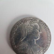 Monedas antiguas de Europa: 1 TALER 1780 MONEDA FALSA. Lote 159832418
