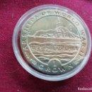 Monedas antiguas de Europa: GIBRALTAR 1 CROWN 1993 U.S.S. PHILADELPHIA. Lote 159850526