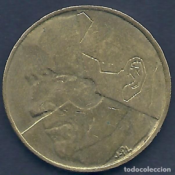 Monedas antiguas de Europa: BÉLGICA - 5 FRANCOS 1986 EBC - LA DE LAS FOTOS - VISITA TAMBIÉN MIS OTROS LOTES - Foto 2 - 159880734