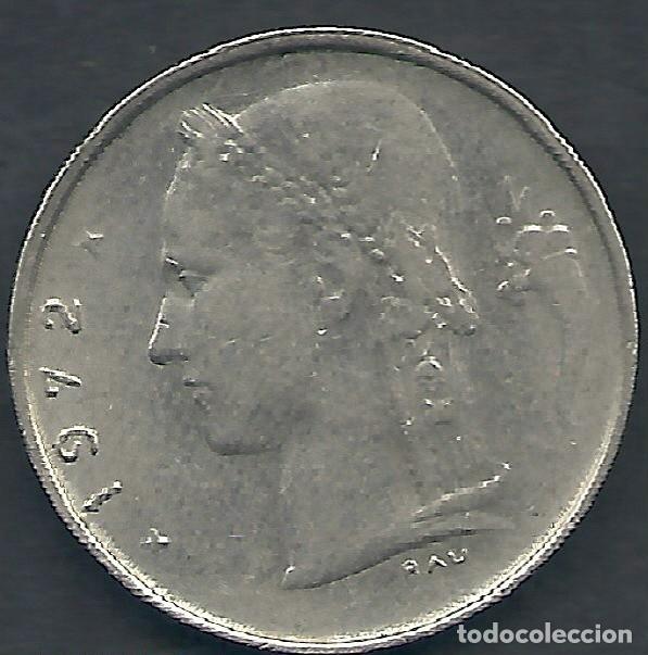 Monedas antiguas de Europa: BÉLGICA - 1 FRANCOS 1972 - MUY EBC - LA DE LAS FOTOS - VISITA TAMBIÉN MIS OTROS LOTES - Foto 2 - 159881626