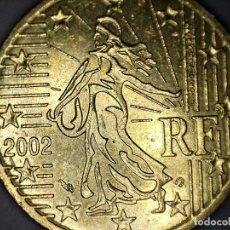 Monedas antiguas de Europa: 50 CENTIMOS CENT EURO FRANCIA 2002 CIRCULADA - MONEDAS USADAS . Lote 159997142