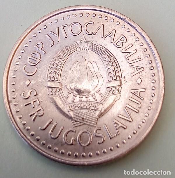 Monedas antiguas de Europa: YUGOSLAVIA- 10 DINAR 1987 - SC/EBC - MIRE MIS OTROS LOTES Y AHORRE GASTOS DE ENVÍO - Foto 2 - 160032726