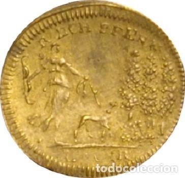 Monedas antiguas de Europa: ESTADOS ALEMANES. JETÓN. LAUER. NUREMBERG. 1.791 - Foto 2 - 160080798