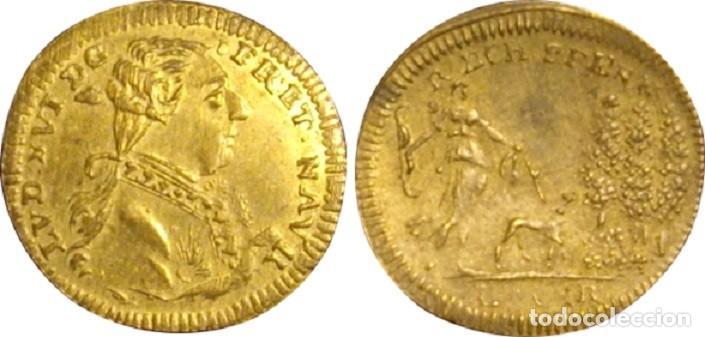 Monedas antiguas de Europa: ESTADOS ALEMANES. JETÓN. LAUER. NUREMBERG. 1.791 - Foto 3 - 160080798
