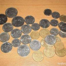 Monedas antiguas de Europa: LOTE 35 MONEDAS FRANCOS FRANCESES (ANTES DEL EURO, ENTRE 1960 A 1998). TOTAL 35,2 FRANCOS FRANCESES. Lote 160162422