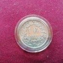 Monedas antiguas de Europa: SUIZA. FRANCO DE PLATA DE 1914. Lote 160171710