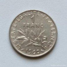 Monedas antiguas de Europa: FRANCIA: 1 FRANC 1960 KM#925.1. Lote 160870394