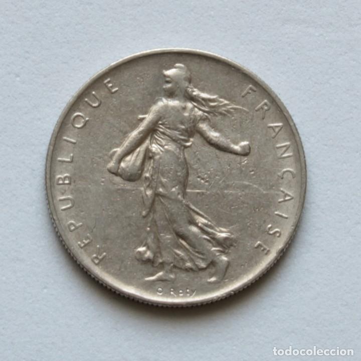 Monedas antiguas de Europa: FRANCIA: 1 FRANC 1960 KM#925.1 - Foto 2 - 160870394