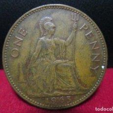 Monedas antiguas de Europa: 1 PENNY 1963 INGLATERRA EN BUENA CONSERVACION. Lote 161145294