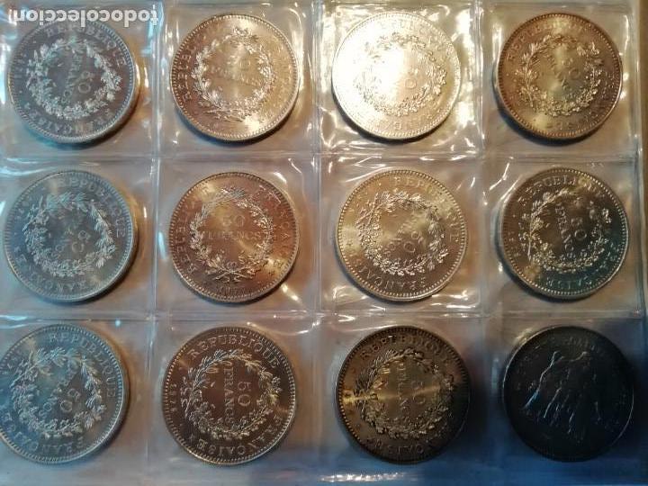 FRANCIA. LOTE DE 31 MONEDAS NUEVAS SC DE 50 FRANCOS DE PLATA (Numismática - Extranjeras - Europa)