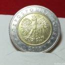 Monedas antiguas de Europa: 5 ZLOTYCY 2016. Lote 161357588