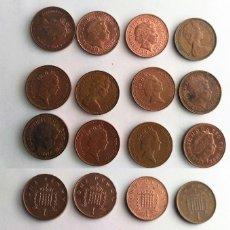 Monedas antiguas de Europa: GRAN BRETAÑA, LOTE DE 12 MONEDAS DEL MISMO VALOR DISTINTO AÑO . Lote 161613070