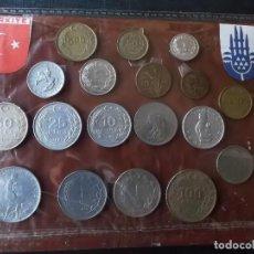 Monedas antiguas de Europa: CONJUNTO DE MONEDAS DE TURQUIA AÑOS 80 Y 90 TODAS DIFERENTES . Lote 161735854