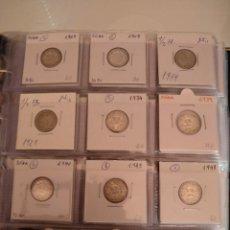Monedas antiguas de Europa: COLECCIÓN MONEDAS SUIZA PLATA. Lote 162383733