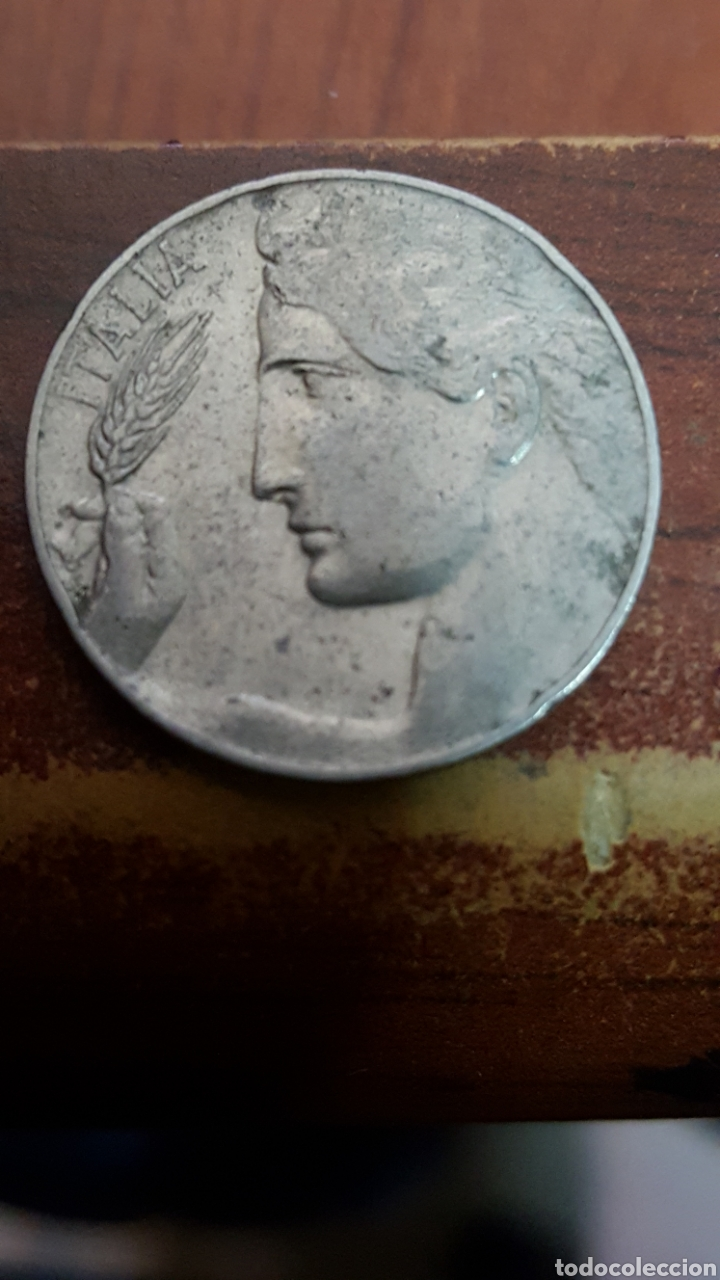 Monedas antiguas de Europa: ITALIA 20 CENTESIMI 1921 - Foto 2 - 162450013