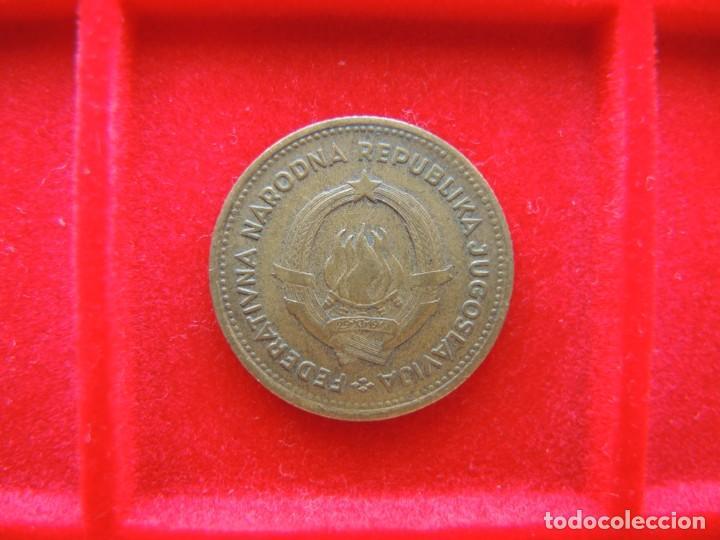 Monedas antiguas de Europa: 10 DINARA, YUGOSLAVIA, 1955, MUJER / CON FIRMA GRABADOR - Foto 2 - 162480222