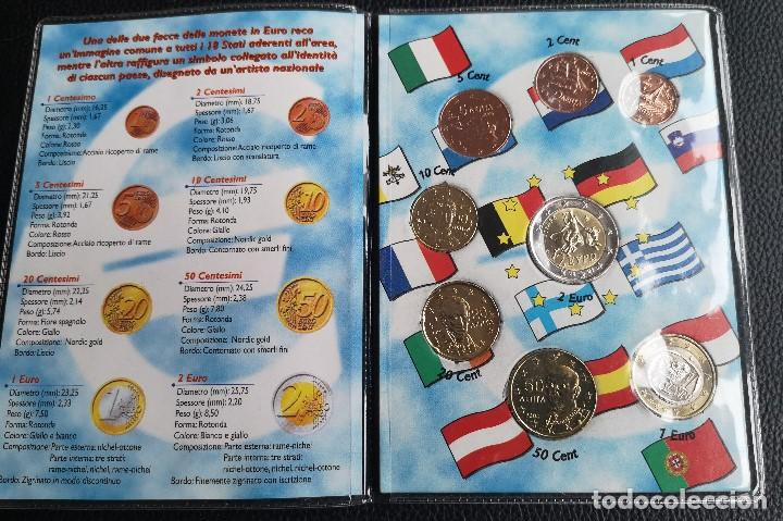 EURO SET MONEDAS DE EUROS DE GRECIA DE 2005 (Numismática - Extranjeras - Europa)