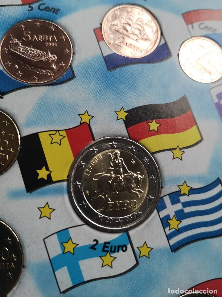 Monedas antiguas de Europa: Euro Set MONEDAS DE EUROS DE GRECIA DE 2005 - Foto 4 - 163197066