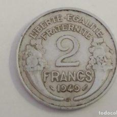Monedas antiguas de Europa: 2 FRANCS 1949. FRANCIA. Lote 163446414