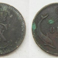 Monedas antiguas de Europa: MONEDA DE DINAMARCA 2 ORE 1899 CHRISTIAN IX. Lote 163591334