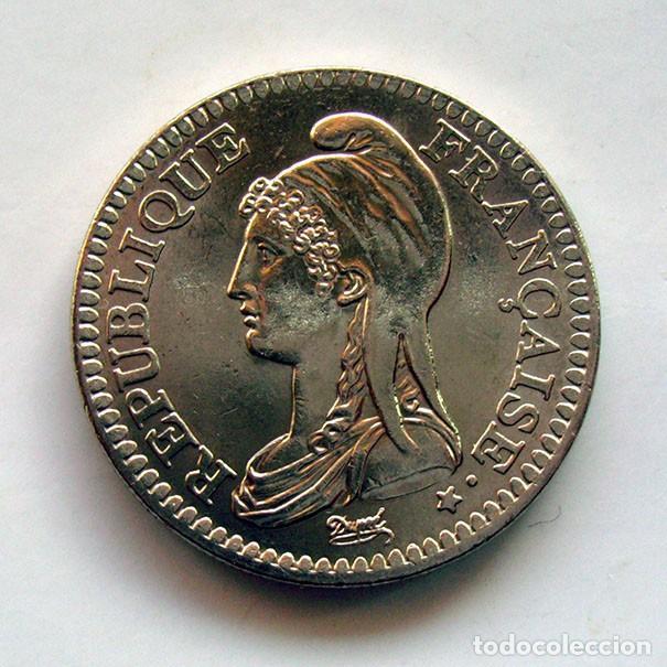 MONEDAS DEL MUNDO . FRANCIA . 1 FRANC 1992 . SIN CIRCULAR (Numismática - Extranjeras - Europa)