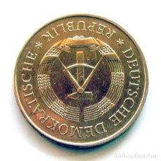 Monedas antiguas de Europa: MONEDAS DEL MUNDO . REPUBLICA DEMOCRATICA ALEMANA . 5 MARK 1969 . EXCELENTE. Lote 165071402