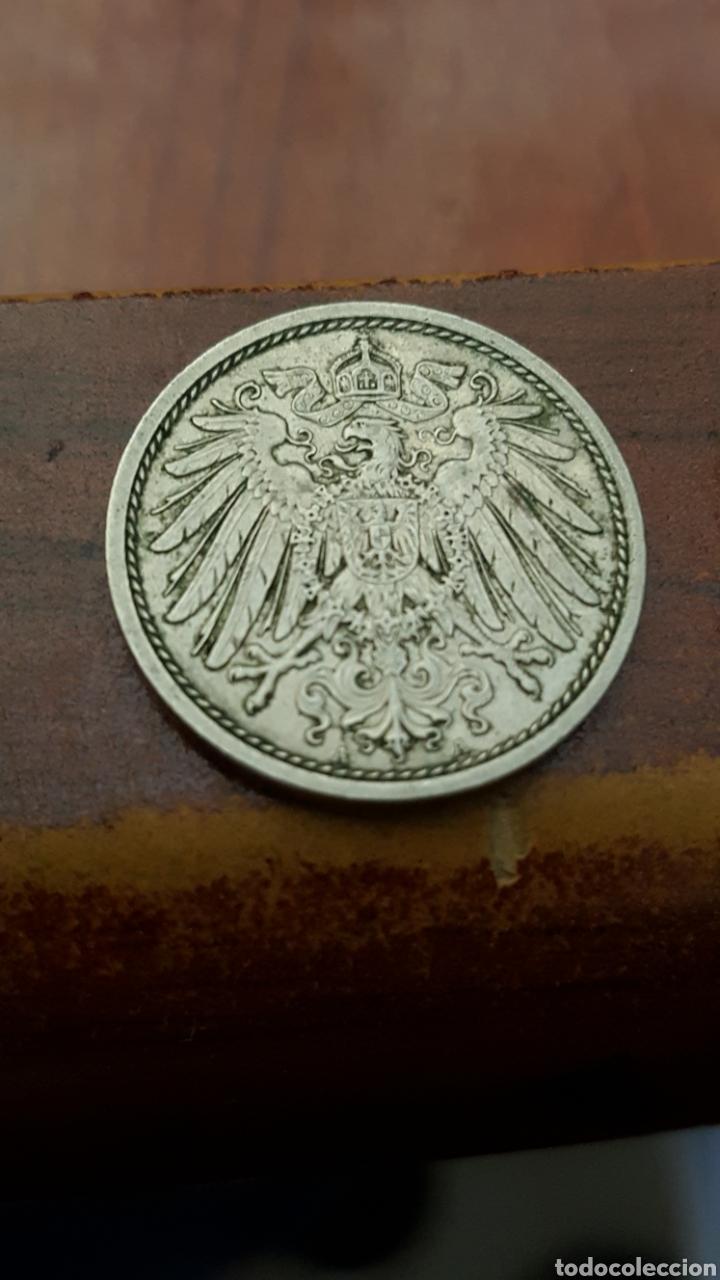 Monedas antiguas de Europa: ALEMANIA 10 PFENING 1914 - Foto 2 - 165205612