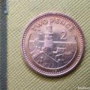 Monedas antiguas de Europa: TWO PENCE 1991 GIBRALTAR. Lote 165632925