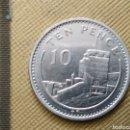 Monedas antiguas de Europa: TEN PENCE 1988 GIBRARTAR. Lote 165633102