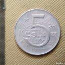 Monedas antiguas de Europa: 5 KCS 1975 CHECOSLOVAQUIA. Lote 165633350