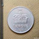 Monedas antiguas de Europa: 1 KRONE. 1975. Lote 165633465