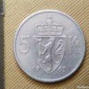 Monedas antiguas de Europa: 5 KRONES 1963 NORUEGA. Lote 165633837