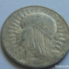 Monedas antiguas de Europa: MONEDA DE PLATA DE 2 ZLOTY DE 1933 DE POLONIA DE LA REINA JADWIGA, ZLOTYCH. Lote 165680486