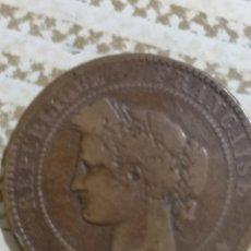 Monedas antiguas de Europa: MONEDA REPÚBLICA FRANCESA AÑO 1897.. Lote 165689400