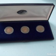 Monedas antiguas de Europa: COLECCION DE MONEDAS DE PLATA Y METAL SERIE ANIMALES ANDORRA 184. Lote 165719342