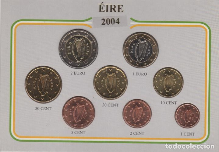 2004 MONEDAS EURO DE CURSO LEGAL IRLANDA - EIRE - SC (Numismática - Extranjeras - Europa)