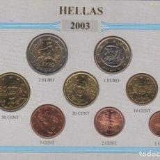 Monedas antiguas de Europa: 2003 MONEDAS EURO DE CURSO LEGAL GRECIA - HELLAS - SC. Lote 165992870
