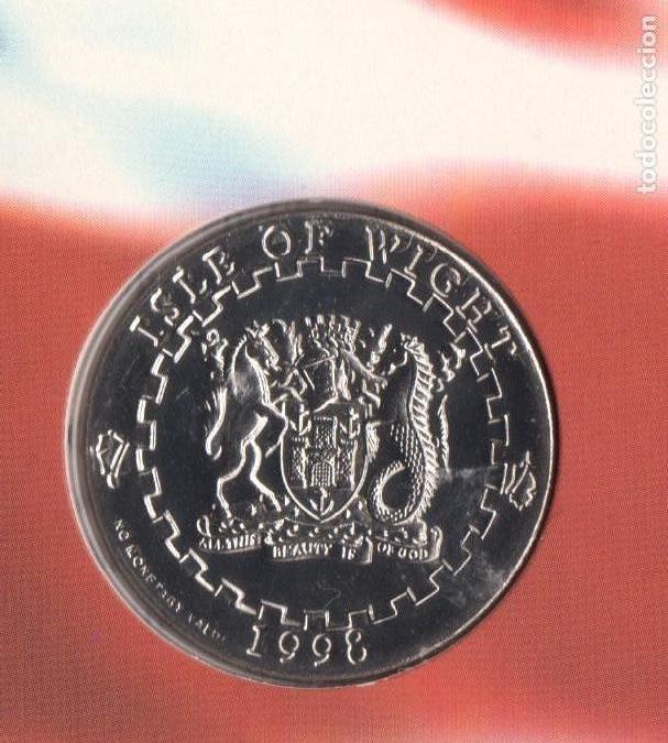 Monedas antiguas de Europa: 1998 monedas EURO de Isla de WIGHT - SC - Foto 3 - 165993970