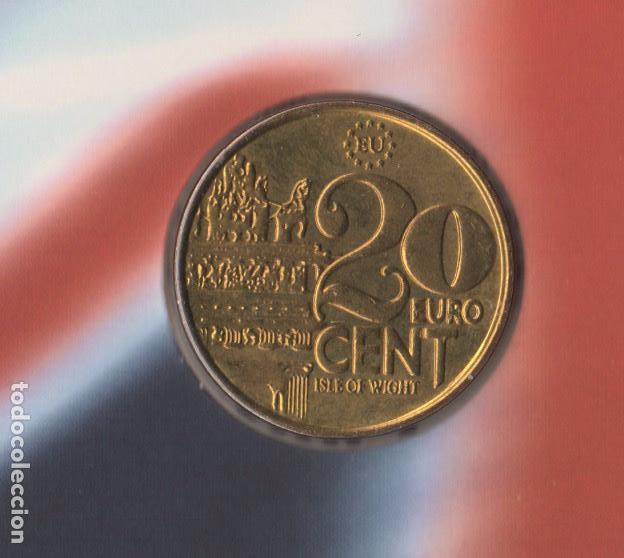 Monedas antiguas de Europa: 1998 monedas EURO de Isla de WIGHT - SC - Foto 7 - 165993970
