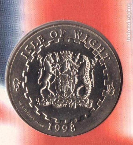 Monedas antiguas de Europa: 1998 monedas EURO de Isla de WIGHT - SC - Foto 9 - 165993970