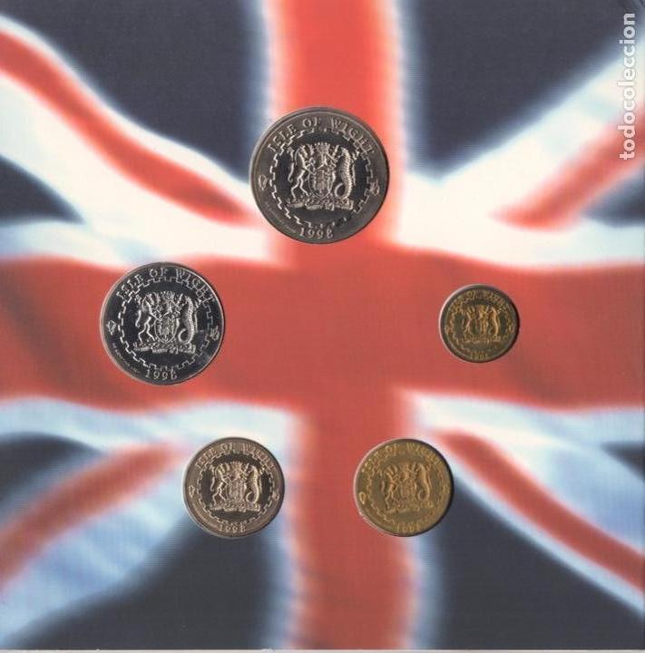 Monedas antiguas de Europa: 1998 monedas EURO de Isla de WIGHT - SC - Foto 12 - 165993970