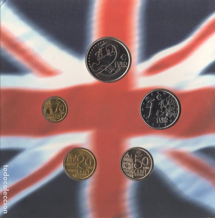 1998 MONEDAS EURO DE ISLA DE WIGHT - SC (Numismática - Extranjeras - Europa)