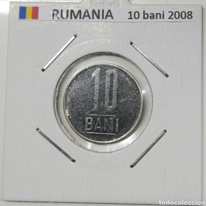 MONEDA 10 BANI RUMANIA, 2008 (Numismática - Extranjeras - Europa)