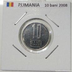 Monedas antiguas de Europa: MONEDA 10 BANI RUMANIA, 2008. Lote 166451256