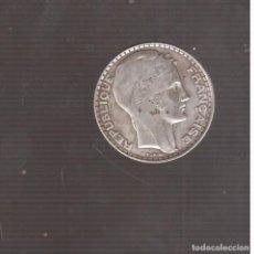 Monedas antiguas de Europa: EUROPA MONEDA DE PLATA DE FRANCIA 1929 20 FRANCOS. Lote 194612908